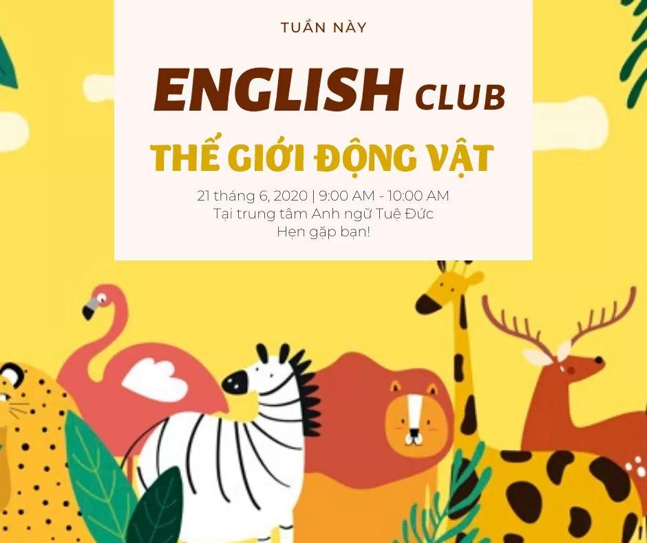 English Club- Animal